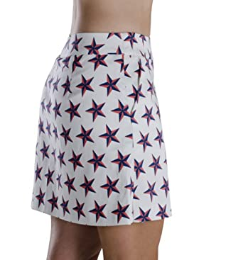 Haute Shot Golf Ladies Golf Skort, Closest to the Pinup print by Haute Shot Golf