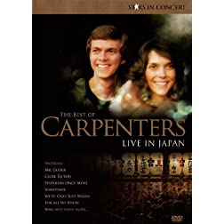 The Best Of Carpenters - Live In Japan