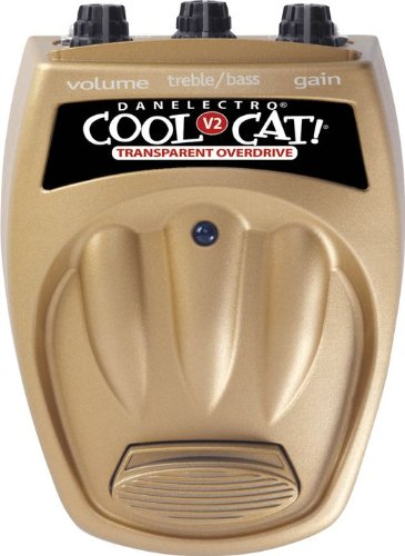 Danelectro CTO2 Cool Cat Transparent Overdrive V2 Pedal