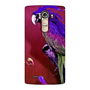 Enticing Magic Parrot Multicolor Back Case Cover for LG G4