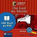 Das Lied der Mörder (Compact Lernkrimi Hörbuch): Deutsch - Niveau A2 Hörbuch von Anemone Fesl Gesprochen von: Patrick Zwingmann