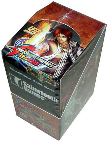 Buy Universal Fighting System (UFS) Card Game Samurai Showdown & King of Fighters Booster Box (24 Packs)