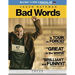 Bad Words (Blu-ray + DVD + DIGITAL HD with UltraViolet)