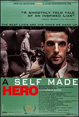 A SELF MADE HERO - 27x40 Original Movie Poster One Sheet Mathieu Kassovitz 1997