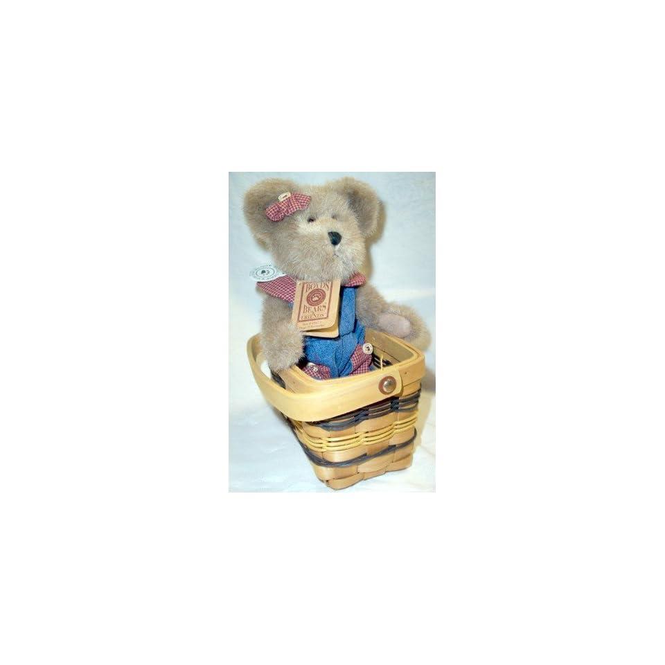 Boyds Bears & Friends Maggie D. Berriweather in a Basket
