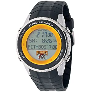 MLB Mens MLB-SW-PIT Schedule Series Pittsburgh Pirates Watch by Game Time