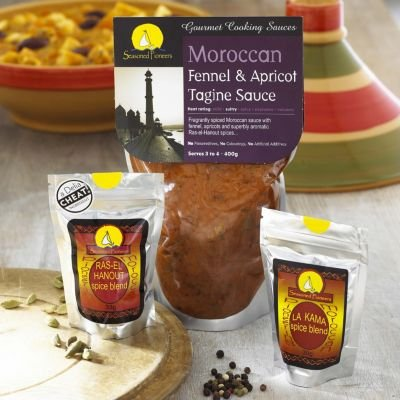 Seasoned Pioneers Tagine Spices & Sauce Starter Kit