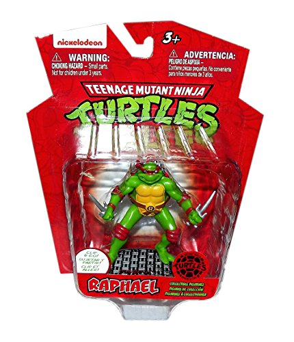TEENAGE MUTANT NINJA TURTLES 3in RAPHAEL FIGURE CLIP - 1
