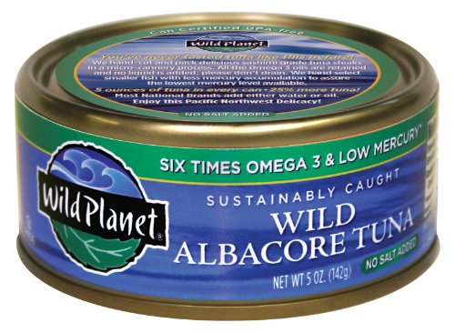 Wild Planet Sustainably Caught Wild Albacore Tuna No Salt