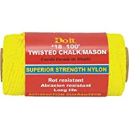 Do it Nylon Chalk And Mason Line-100' GOLD MASON LINE