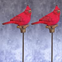 Cardinal Plant Stake Set of Two Stakes 10.5