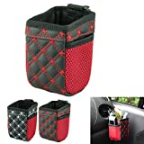 Voberry® Car Vehicle-mounted Sundries Barrels Car Grocery Storage Organizer Bucket Cup Perfect for Storage Mobile Phone,iPhone 5 5S 4 4S,Key,Wallet,Headphone,Sunglassess,Pen,etc.