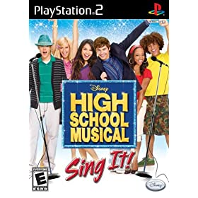 High School Musical: Sing it! Bundle With Microphone