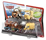 Cars 2 Character 2-Pack - Race Team Mater & Sal Machiani - Coolest Toy Collection for Kids