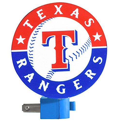 MLB Texas Rangers Night Light - 1
