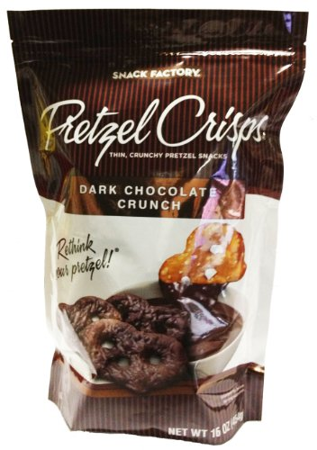 Pretzel Crisps Dark Chocolate Crunch