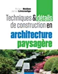 Techniques et d�tails de construction...