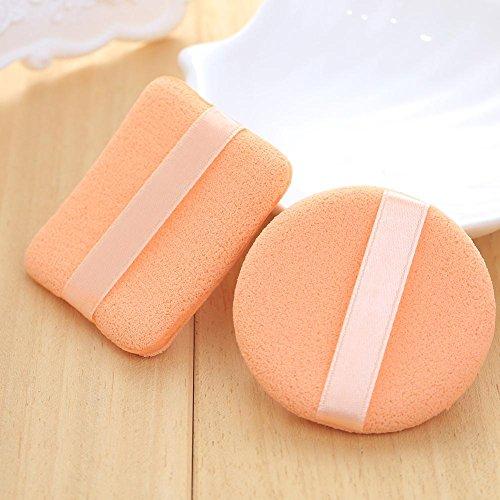Maquita 6PCS Fond de teint Dame Beauté Outils éponge Powder Puff cosmétiques Accessoires facial lisse et douce vie moderne naturel en fibre de bois