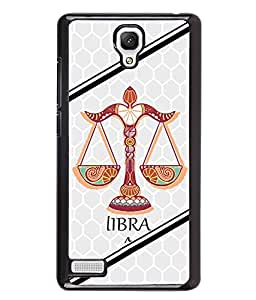 PrintVisa Metal Printed Libra tulla Designer Back Case Cover for Xiaomi Redmi Note 4G -D5011