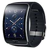 Samsung Gear S SM-R750 (S/K) Curved Super AMOLED Smart Watch (Black) - International Version No Warranty
