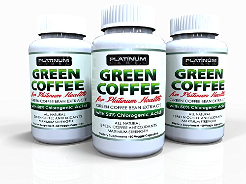 Premium Pure Coffee Green Bean Extract As Seen On Dr Oz - Buy Now & Be Protected By Our 100% Money-Back Guarantee - The Best, All Natural Extract With The Highest Quality Gca - Perfect Dietary Supplement For Burning Fat & Assisting Weight Loss!