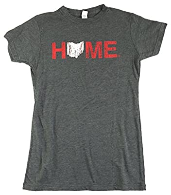 Ladies' Ohio Tee | Cincinnati Baseball | Red/White