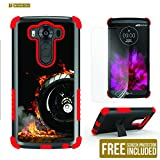 LG V10 Case, V10 Case, Beyond Cell®High Impact Armor Hybrid Rugged Durable Phone Case With Built in kickstand-Harley-FREE Screen Protector
