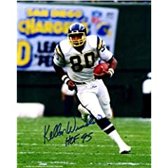 Autographed Hand Signed Kellen Winslow 8x10 8x10 Photo - San Diego Chargers by Hall of Fame Memorabilia
