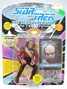 Star Trek Next Generation Action Figure 1st Season Lt Worf
