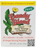 Dandy Blend Instant Herbal Beverage with Dandelion -- 25 Pouches Model: (Home & Kitchen)