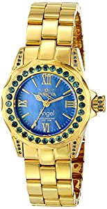 Invicta Women's 15054 Angel Analog Display Swiss Quartz Gold Watch