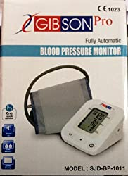 Gibson Pro Automatic Upper Arm Blood Pressure Monitor with Warranty