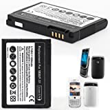 Mbuynow® Powerful High Capacity 1500mAh Smartphone Battery Replacement Backup Spare Compatible with BlackBerry Torch 9800 9810