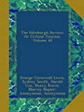 img - for The Edinburgh Review: Or Critical Journal, Volume 40 book / textbook / text book