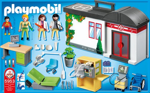Playmobil Take Along Hospital Playset Review