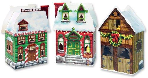 Ddi 1277053 Christmas Village Favor Boxes Case Of 72 front-976394