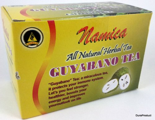 Namica Guyabano Herbal Tea 100% All Natural Health Drink