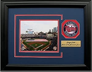CGI Sports Memories Minnesota Twins Target Field Photo Frame with 3D Double Mat by CGI Sports Memories