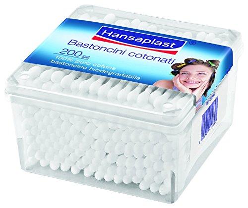 Hansaplast Wattestäbchen, 200 Stück