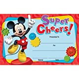 Mickey Mouse Clubhouse Super Cheers Awards - Classroom and Bulletin Board Decorations - 36 per Pack