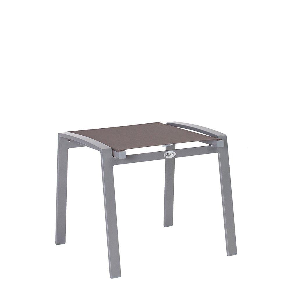 Stern Stapelhocker Olivo, Aluminium graphit mit Bezug Textilen taupe online kaufen
