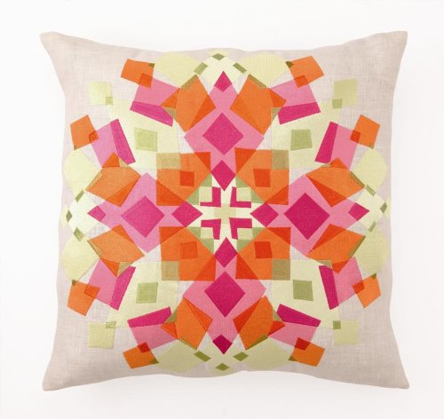 Trina Turk Down-Filled Pillow, Kaleidoscope,