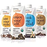 CalNaturale Svelte Organic Gluten Free Protein Shake, Variety Pack, 15.9 Ounce (Pack of 12)