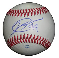 Jeff Stevens Autographed ROLB Baseball, New York Mets, Chicago Cubs, Team USA, Proof Photo