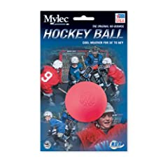 Buy Mylec Cold Weather Hockey Balls, (Pack of 6) Pink by Mylec
