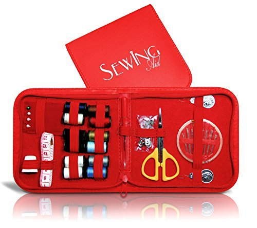 Review Of Sewing Aid - Small & Complete Emergency Sewing Kit Contains 12 Threads with Most Usefu...