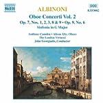 Concerti pour hautbois Op.7 & 9 Vol.2