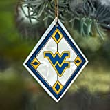 West Virginia Stained Glass Ornament