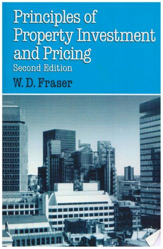 Principles of Property Investment & Pric (Building