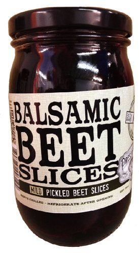 Balsamic Beet Slices by Preservation Co. (16 fluid ounce) (White Pickled Ginger compare prices)